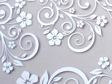 Laser Cutting Floral