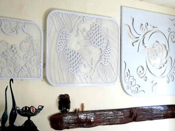 Laser Cutting Wall Decoration
